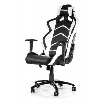 PC AKRACING, Player Gaming Chair (Zwart / Wit)