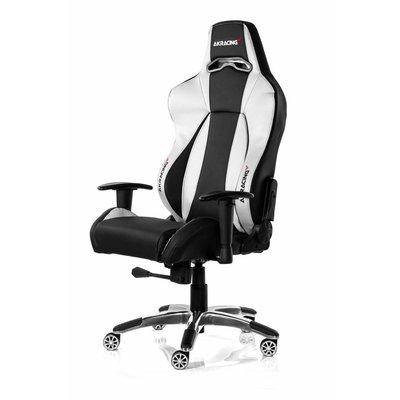 PC AKRACING, Premium Gaming Chair (Zwart / Zilver)