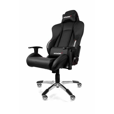 PC AKRACING, Premium Gaming Chair (Zwart / Zwart)