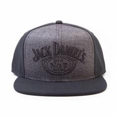 Merchandise Jack Daniels - Logo - Snapback - Zwart