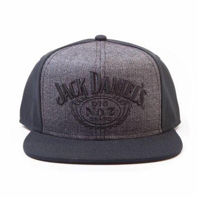 Merchandise Jack Daniel's - Logo - Snapback - Zwart