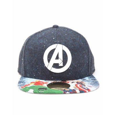 Merchandise Marvel - Avengers Logo Op Pet Met Avengers Print Er Op