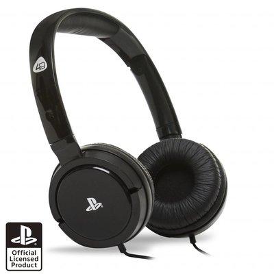 PS4 4Gamers PRO4-15 Stereo Gaming Headset (Zwart)