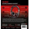 PS4 Gioteck, XH-100 Wired Stereo Headset (Black / Red) (PC / MAC /  / Xbox One)