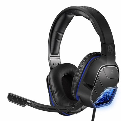 PS4 Afterglow - LVL 5 Plus - Wired Stereo Headset (Quadboost) (Black)