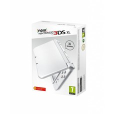 3DS New 3DS XL Console, Pearl White
