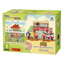 3DS New 3DS Console + Animal Crossing, Happy Home Designer