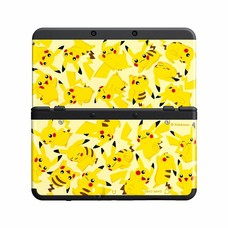 3DS New 3DS Coverplate 022 Pikachu Crowd