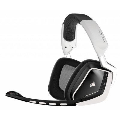 PC Corsair Gaming - Void Wireless RGB Dolby 7.1 Gaming Headset - White