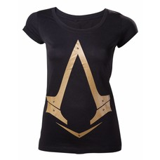 Merchandise Assassin's Creed Syndicate - Female Gold Logo T-Shirt - Maat L