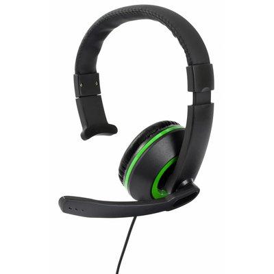Xbox One Gioteck, XH-50 Wired Mono Headset (Black / Green)