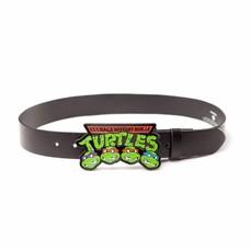 Merchandise Ninja Turtles - Buckle Strap Logo - Maat M (Zwart)