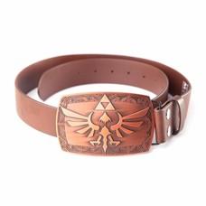 Merchandise Nintendo - Zelda Platina Buckle with Brown Belt - Riem - Extra Large