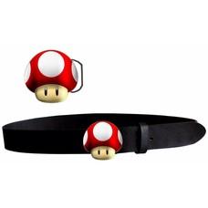 Merchandise Nintendo - Mushroom Riem / Belt - Maat M