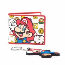 Merchandise Nintendo - Giftset Wallet Keyring Mario