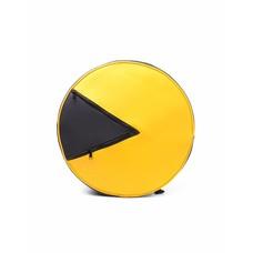 Merchandise Pac-Man - Pac-Man Shaped Backpack - Rugzak - Geel