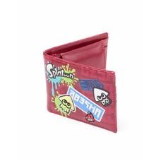 Merchandise Nintendo - Splatoon Game Logo's Bifold Wallet / Portemonnee