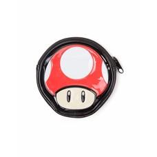 Merchandise Nintendo - Mushroom Shaped Coin Pouch / Muntzakje - Rood