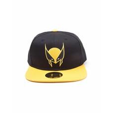 Merchandise X-Men - Wolverine Mask - Pet - Snapback - Geel