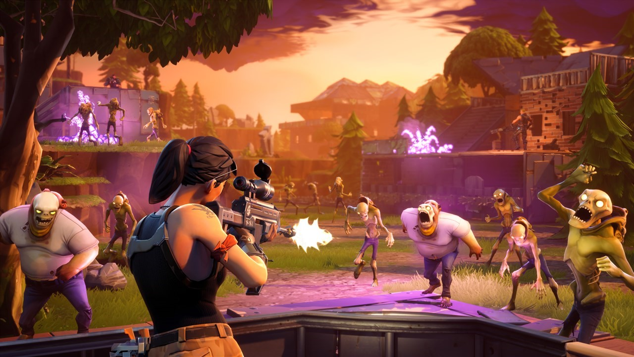 'Hordes van zombies in Save The World'
