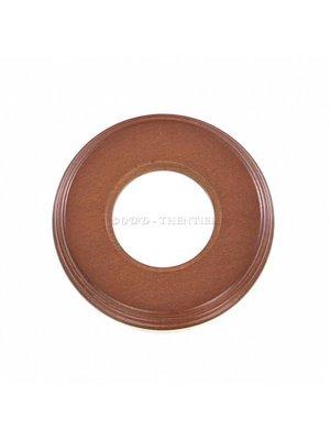 Mahonie houten montageplaat 1V