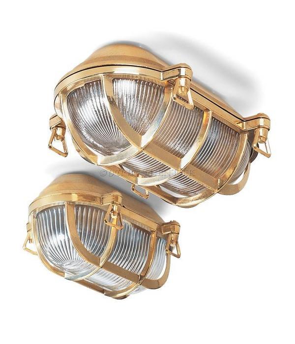 Scheeps wand- plafondlamp 1915
