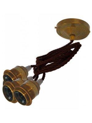 Hanglamp '3 x Edison'