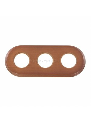 Mahonie houten montageplaat 3V