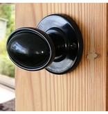Draai- deurknop bakeliet 1920