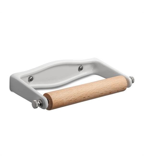 WC rolhouder gietijzer emaille