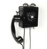 Bakeliet wand telefoon (niet werkend)
