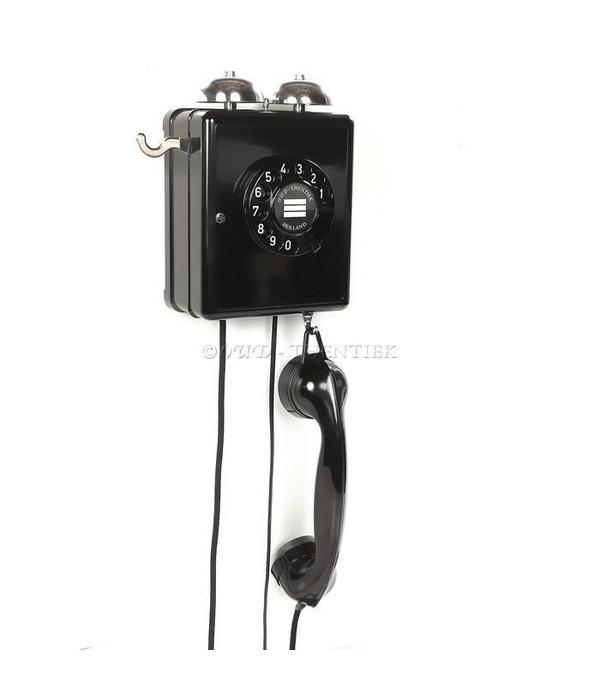 Bakeliet wand telefoon