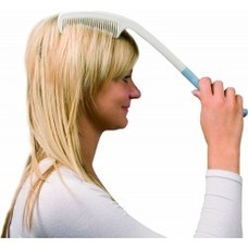 Hulpmiddel voor haren kammen