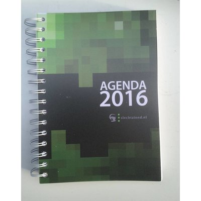 Grootletter agenda A5