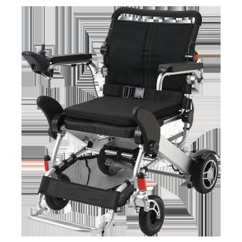 lichtgewicht opvouwbare elektrische rolstoel