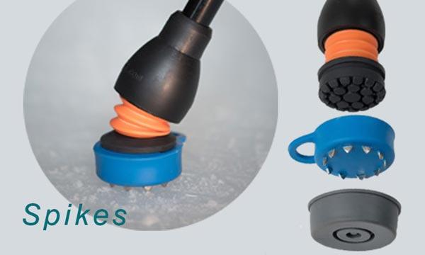 flexyfoot wandelstok dop spikes
