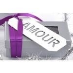Lint, zakjes en labels voor huwelijk