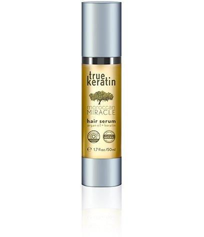 True Keratin Hair Serum, Miracle Moroccan met Argan olie