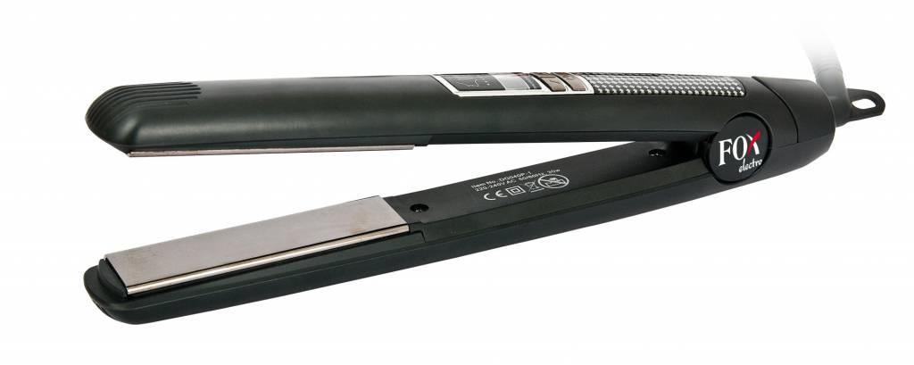 Fox Electro stijltang met spiegelglad titanium platen