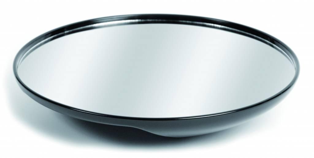 Spiegel Zwart Rond : Handspiegel voor kappers rond zwart cm kappers co