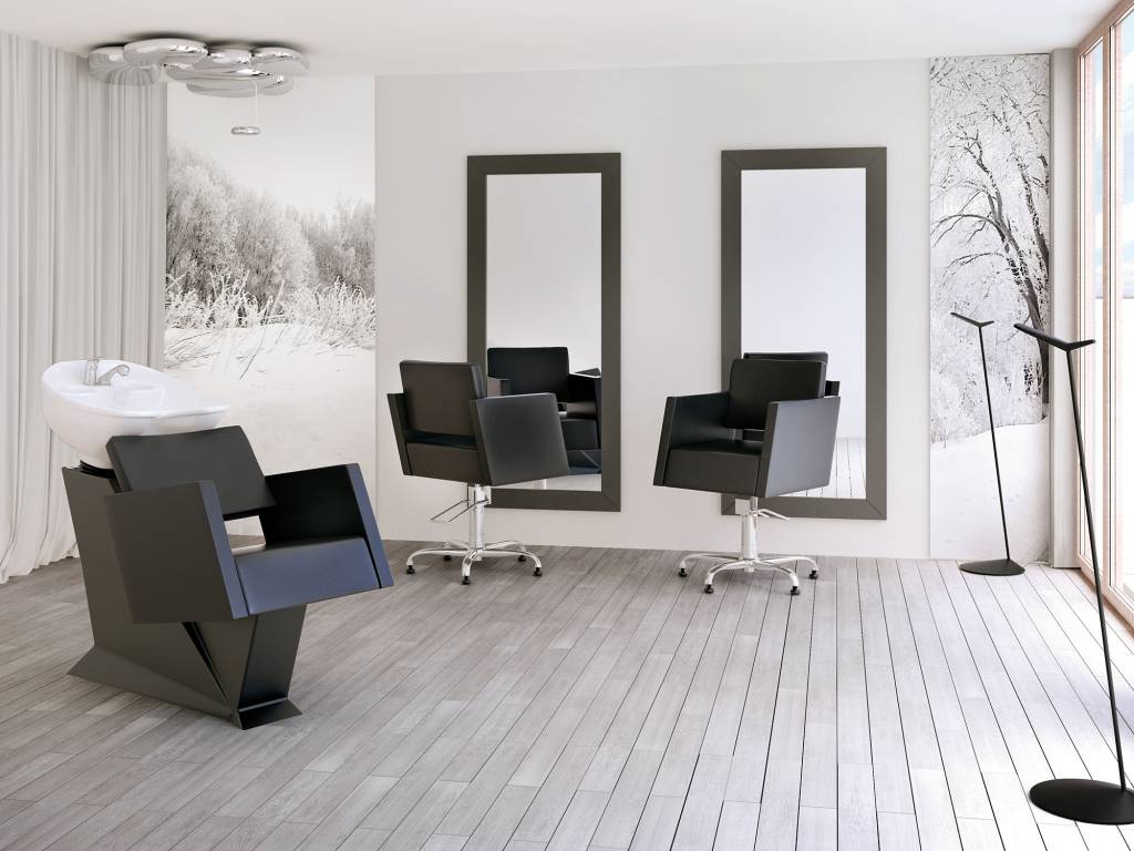 Barber chair caro kappers co hairdressing products for Kapsalon interieur