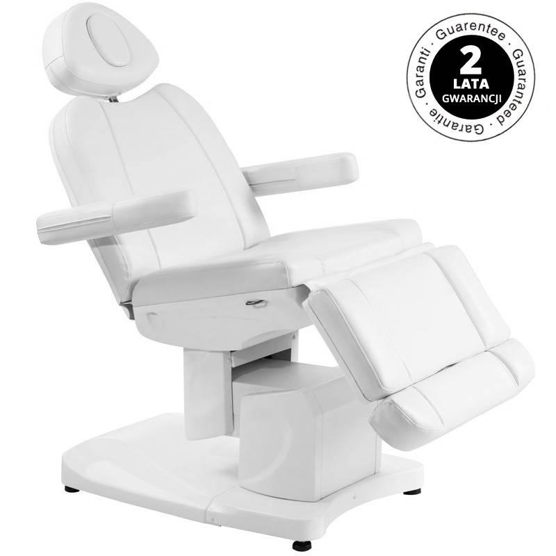 Azzurro Behandelstoel elektrisch AZZURRO 708A met 4 motoren, wit
