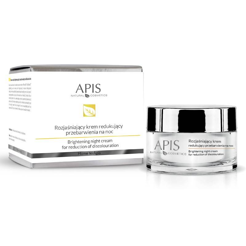 APIS Krem Home Terapis rozjaśniający, redukujący przebarwienia na noc 50ml