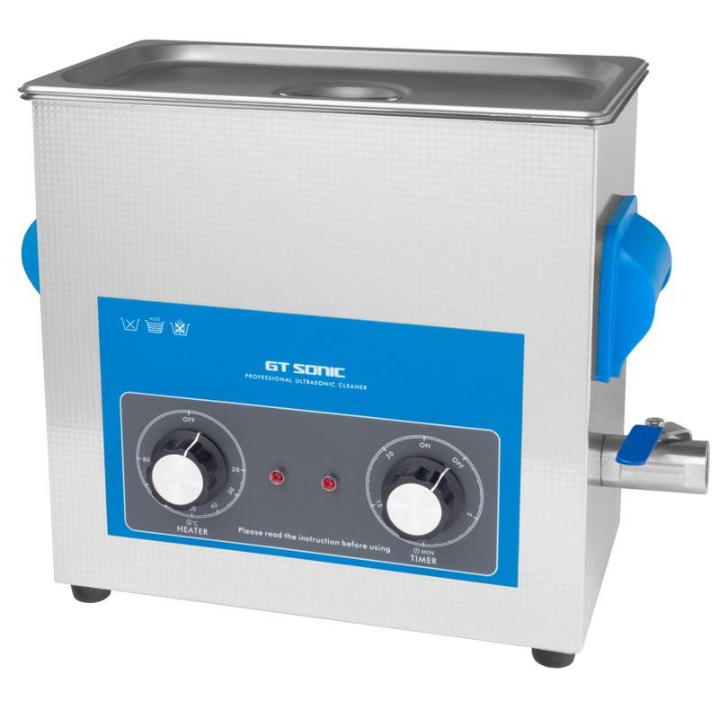 GT SONIC ULTRASONIC CLEANER ACV 860QT CONT. 6.0 L, 300W
