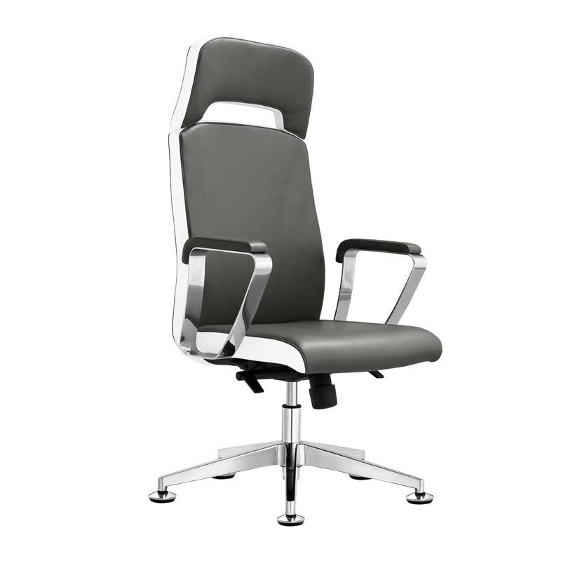Fotel Kosmetyczny Rico A1501 1 Do Pedicure I Makijażu Szaro Biały