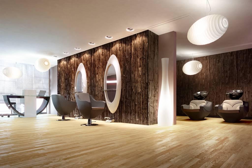 Panda salon set Noah - wash unit, barber chair, dressing table - Copy