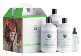 Earthly Body ColorpHlex salon kit professional, 1x step 1-500ml, 2x step 2-500ml