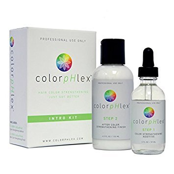 Earthly Body ColorpHlex intro kit, step 1-59ml, step 2-118ml