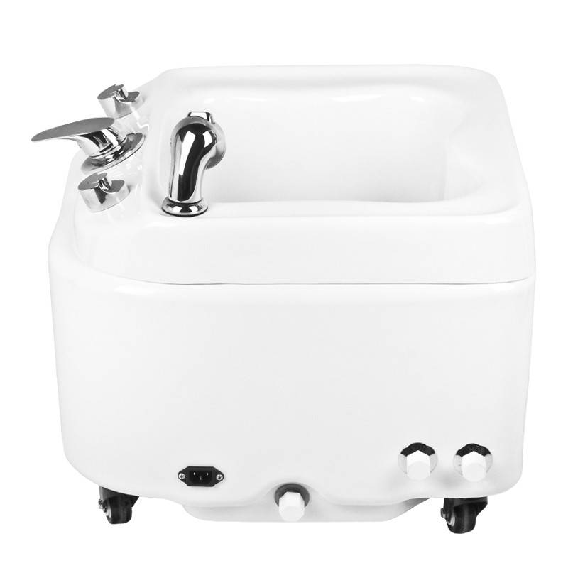 Activeshop® PEDICURE FOOT BASIN WITH HYDROMASSAGE AZZURRO A023