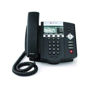 Polycom SoundPoint IP 450 VoiP Telefoon voor 3 lijnen